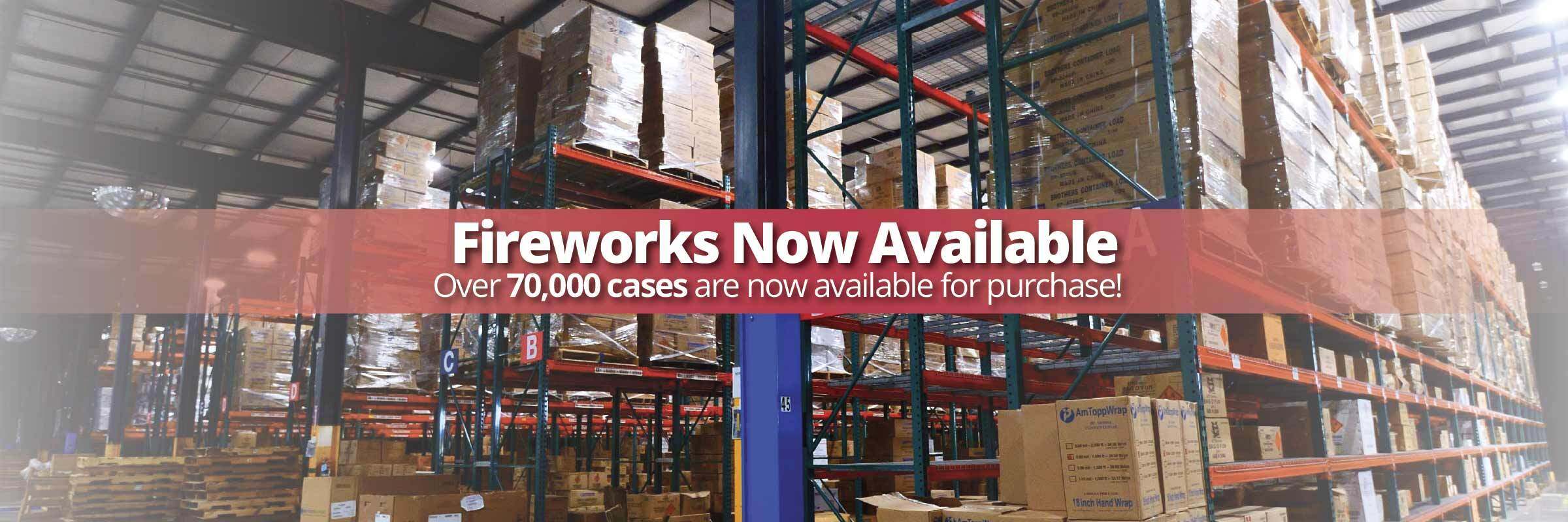 Wholesale Fireworks Orders Resume