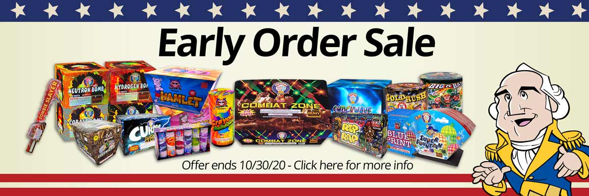 2020-2021 New Year's Early Order Sale