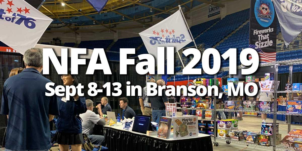 2019 Fall NFA Expo - Branson, Missouri