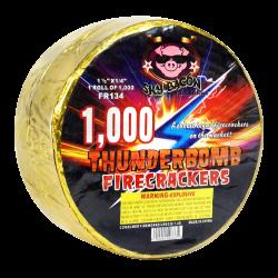 Thunderbomb Firecrackers 1000s Firework