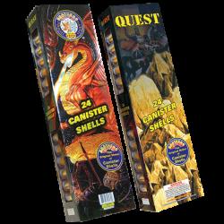 """Quest  1.75"""" 60-Gram Canister Shells Firework"""