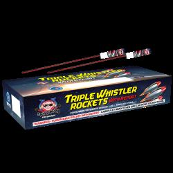 Triple Whistler Rocket w/ Report Firework