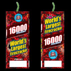 Worlds Largest Firecracker (16,000 roll) Firework