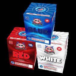Red / White / Blue Firework