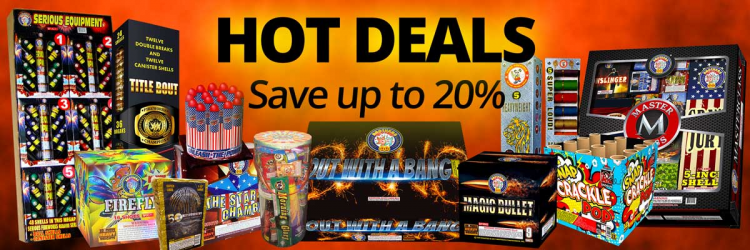 Hot Deals - up to 20% off