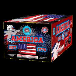 America (est 1776) Firework