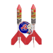 "Missiles Fireworks: Winged Missiles – 6"", 8"", 10"", 12"". Plastic and cardboard fins available. Call us at 573-447-1776."